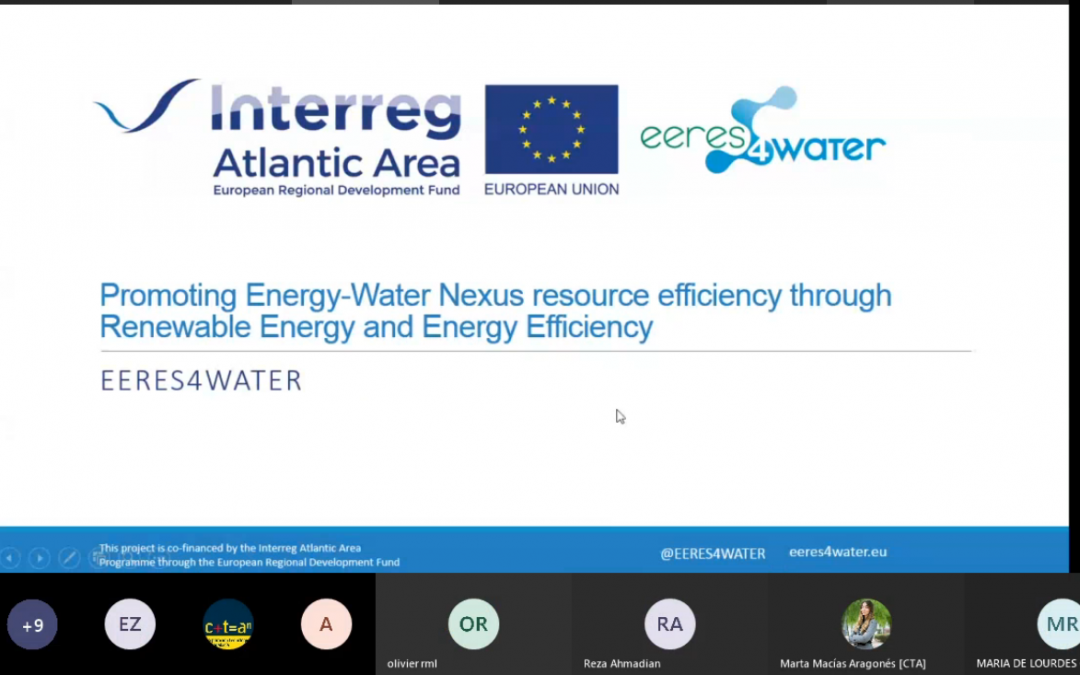 EERES4WATER organises the 1st meeting with associated partners to present the technical progress