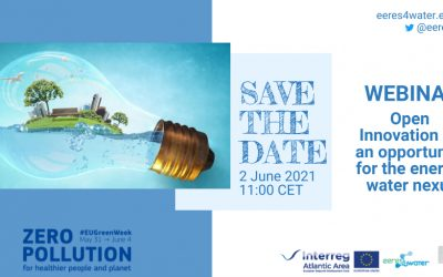 EERES4WATER participates in the celebration of the EU Green Week with a webinar on Open Innovation