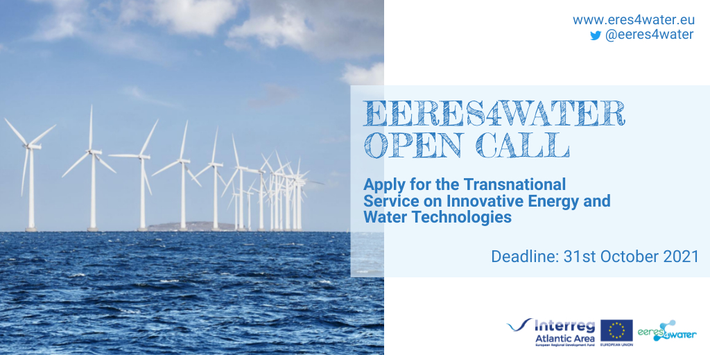 Calling all Atlantic Area entities to apply for Transnational Services on Energy and Water Tech